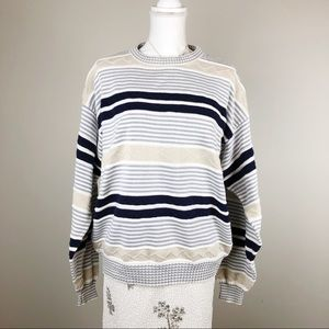 Christian Dior Vintage Striped Sweater